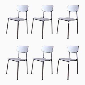 Deutsche Stühle, 1950er, 6er Set