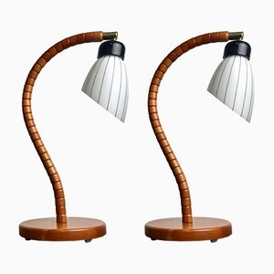 Modernist Swedish Lamps from Markslöjd, 1970s, Set of 2