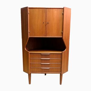 Danish Corner Cabinet from Omann Jun, 1970s