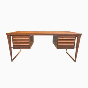 Model 70 Rosewood Desk by Kai Kristiansen for Feldballes Møbelfabrik, 1950s
