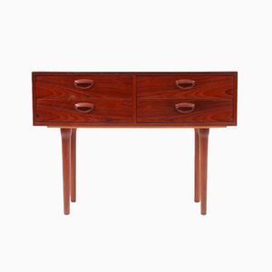 Danish Teak Chest of Drawers by Kai Kristiansen for FM Møbler, 1950s