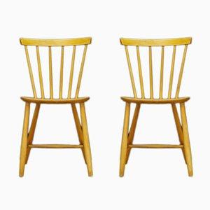 Vintage Stühle von FDB Møbelfabrik, 2er Set