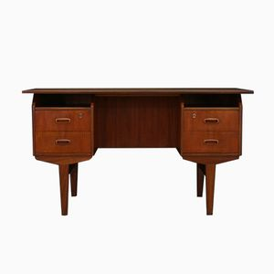 Mid-Century Danish Writing Desk in Teak