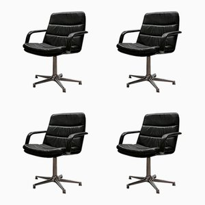 Mid-Century F978 Chairs by Geoffrey Harcourt for Artifort, Set of 4