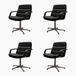 Mid-Century F978 Stühle von Geoffrey Harcourt für Artifürt, 4er Set