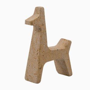 Figurine Giraffe Safari par Matteo Ragni pour Pietre di Monitillo