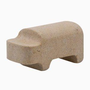 Figurine Hippopotame Safari par Matteo Ragni pour Pietre di Monitillo