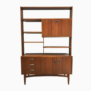 Teak Wall Unit or Room Divider by Donald Gomme for G-Plan, 1960s