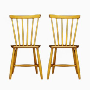 Vintage Danish Chairs from Nesto Möbel, Set of 2
