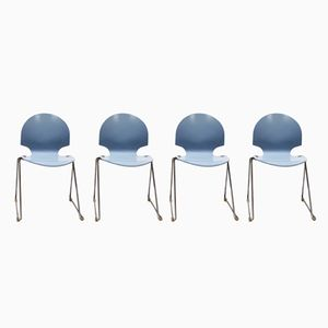 Vintage Stühle von L. Minsk für F. Hansen, 1960er, 4er Set