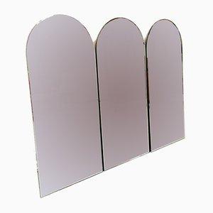 Neoklassizistische italienische Spiegel, 1970er, 3er Set