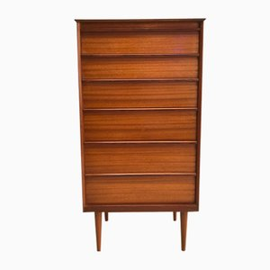 Mid-Century Teak 6-Drawer Commode from Austinsuite
