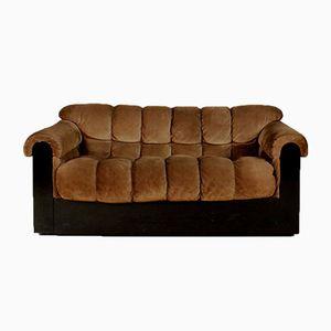 Italienisches Vintage Wildleder Sofa