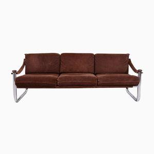 Kanadisches Vintage Samt 3-Sitzer Sofa, 1970er
