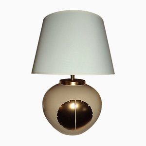 Cracked Ceramic Living Room Lamp from Louis Drimmer, 1970s