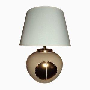 Craquelée Keramik Wohnzimmerlampe in von Louis Drimmer, 1970er