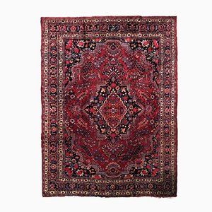 Antique Hand-Made Persian Mashad Rug, 1910s