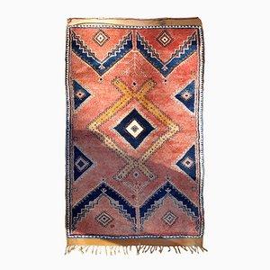Antique Handmade Moroccan Berber Rug, 1920s