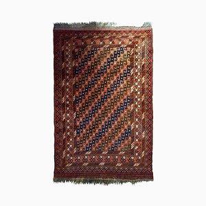 Antique Handmade Afghan Baluch Rug, 1920s