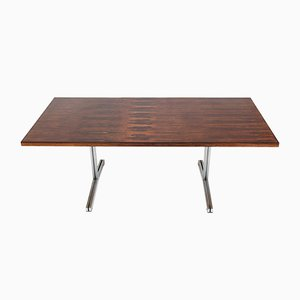 Rosewood Veneer Table by Theo Tempelman for AP Originals, 1960s