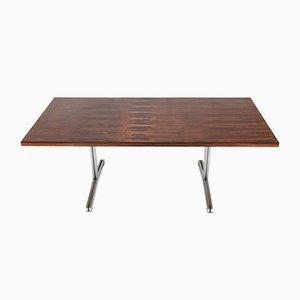 Table Mid-Century Moderne en Contreplaqué en Palissandre par Theo Tempelman pour AP Originals, 1960s
