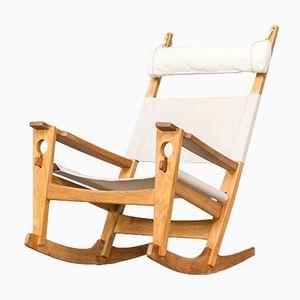 Rocking Chair GE673 Keyhole par Hans J. Wegner pour Getama, 1960s