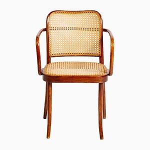 Modell A811 Armlehnstuhl von Josef Frank & Josef Hoffmann für Thonet, 1920er