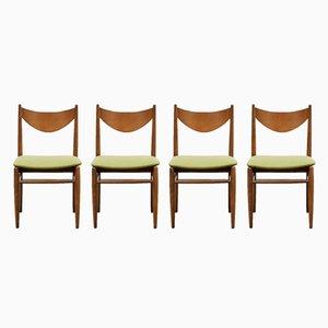 Beistellstühle, 1960er, 4er Set