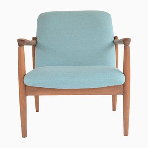 Vintage GMF-64 Armchair in Light Blue by Edmund Homa