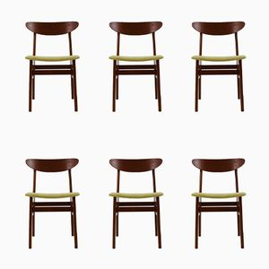 Teak Chairs from Farstrup Møbler, 1960s, Set of 6