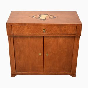 19th-Century Cherrywood Biedermeier Chest