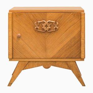 Table de Chevet Art Déco en Chêne, 1930s