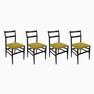 Model Leggera Chairs by Gio Ponti for Cassina, 1952, Set of 4