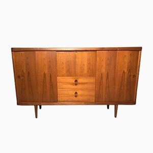 Vintage Teak Highboard oder Sideboard von Henry W. Klein für Bramin, 1960er