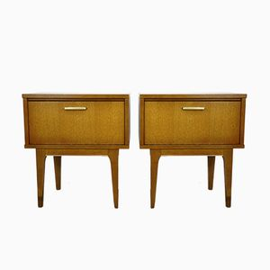 Tables de Chevet, 1950s, Set de 2