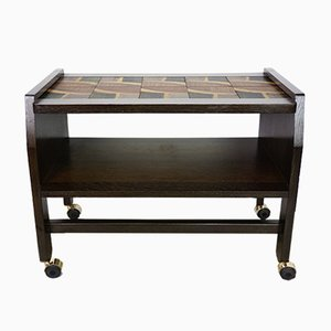 Oak Side Table by Guillerme et Chambron for Votre Maison, 1950s