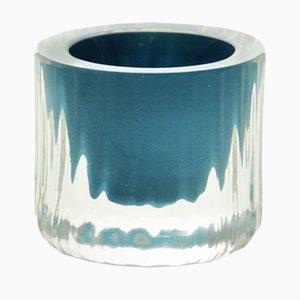 Tasse Egg Moire Collection en Turquoise par Atelier George