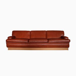 Leather Merkur Sofa by Arne Norell, 1960s