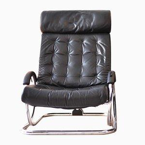Black Synchro Chair from Hermann Miller, 1975