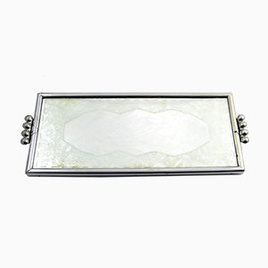 Art Deco Style Mirrored Tray from RBCH, 1920s