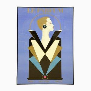 Vintage Le Parfum Poster by Razzia