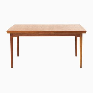 Vintage Danish Extendable Teak Dining Table from Cado