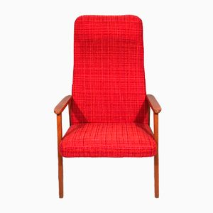 Swedish Teak Lounge Chair, 1960s