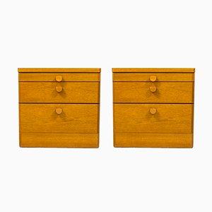 Comodini in teak di Stag Furniture, anni '60, set di 2