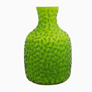 Green Glass Vase from Stelvia, 1960s