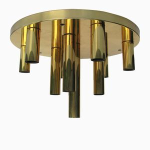 Vintage Ceiling Lamp from Solken, 1970s
