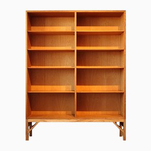 Vintage Danish Oak Shelving Unit by Børge Mogensen for FDB, 1970s