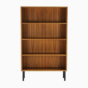 Walnut Veneer Bookcase by Georg Satink for WK Möbel, 1950s