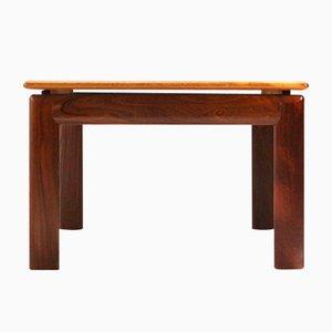 Table Basse Carré en Teck, 1970s