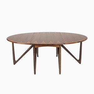 Table de Salle à Manger en Palissandre par Kurt Østervig pour Jason Møbler, 1950s